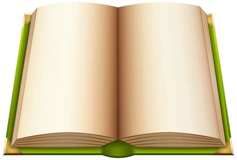 open book images green open book png clipart