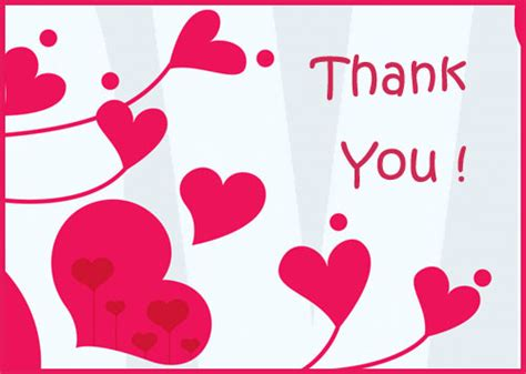 custom thank you card template free free wedding and bridal shower invitations free