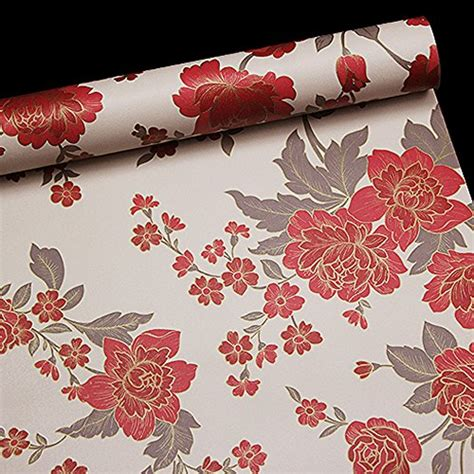 Removable Shelf Liner by Simplelife4u Yellow Damask Self Adhesive Shelf Drawer