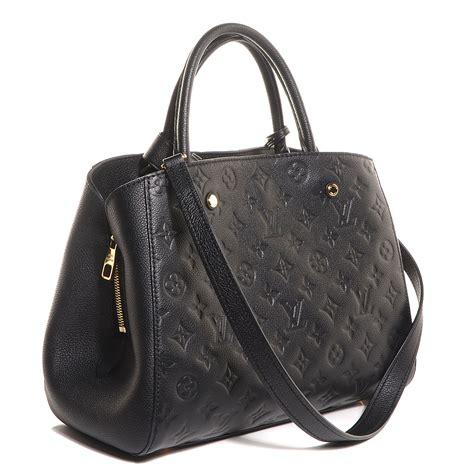Louis Vuitton Montaigne Empreinte Vn41055 louis vuitton empreinte montaigne mm noir black 90284