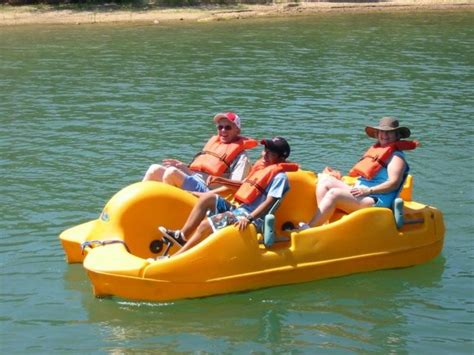 paddle boat rental lake murray one awesome vacation spot in oklahoma