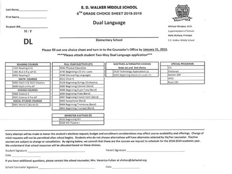cms report card template e d walker middle school e d walker middle school