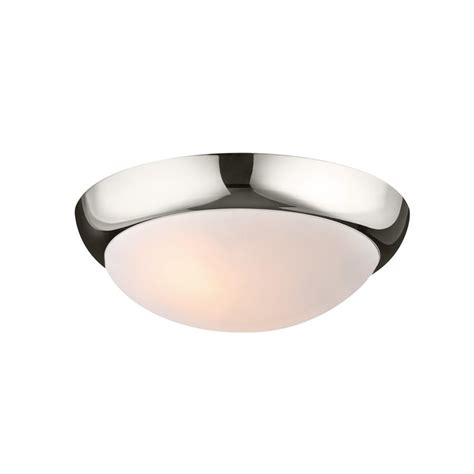 Shop Monte Carlo Fan Company Hugger 3 Light Polished Ceiling Hugger Fans With Lights Lowes