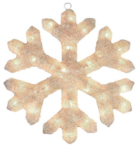 lighted snowflake window decorations lighted snowflake window or yard decoration cream 20