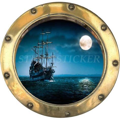 Hublot Bateau Decoration by Sticker Trompe L Oeil Hublot 30x30 Cm Bateau Pirate