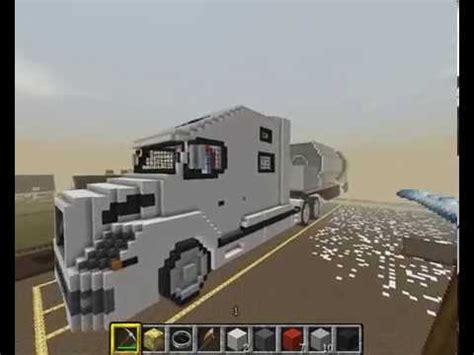 minecraft volvo vnl   trailer youtube