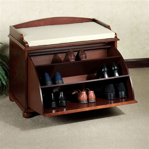 Shoe Benches And Storage aubrie shoe storage bench