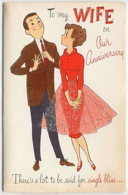 Vintage Wedding Anniversary Cards   The Vintage Inn