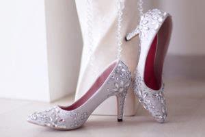 Heels Brukat Krem 2 toko fashion wanita jual beli sepatu wedges high