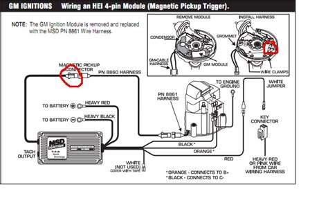 wiring diagram msd 6a wiring diagram chevy hei msd