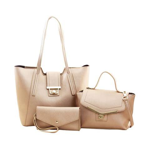 Tas Import K21129 Gold elizabeth bag handbag set tas wanita imf tas import bg367 gold 2c22a920
