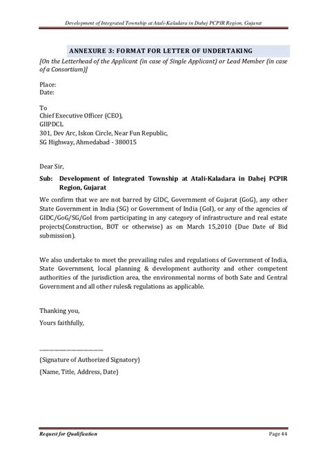 Housing Loan Letter Of Undertaking Atali Kakadara Housing 54 Pgs
