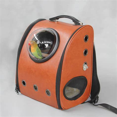 portable r 233 versible mini voyage en plein air transport oiseau perroquet cage accessoires