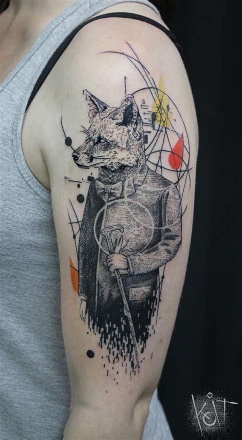 tattoo photoshop koit berlin fox graphic style inked arm