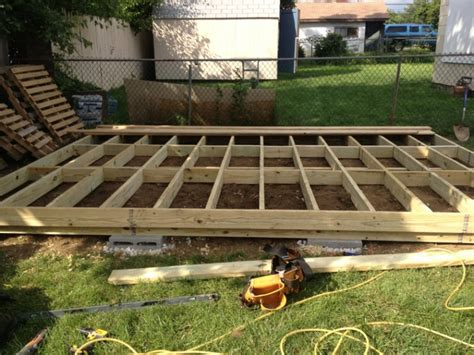 Freestanding Deck Plans by Freestanding Deck Need Ideas Page 8 Decks Fencing