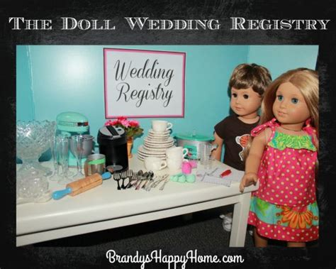 doll registry the doll wedding registry