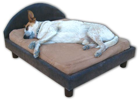dogs in bed orthopedic memory foam dog beds dog furniture