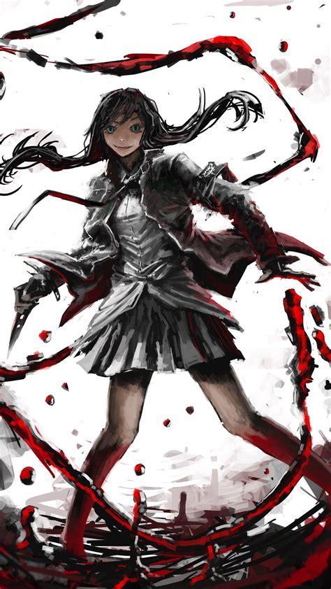 anime girl killer wallpaper creepypasta wallpaper