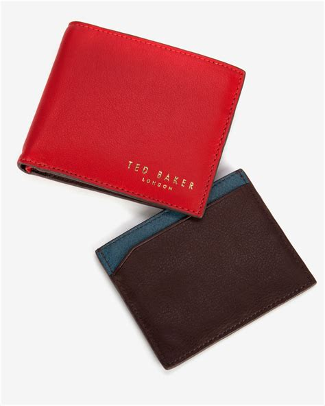Ted Baker Gift Card Terms And Conditions - ted baker coloured wallet gift set in red for men lyst