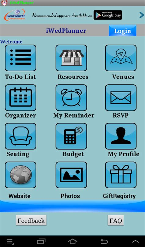 Wedding Organizer App by Free Wedding Planner Android App