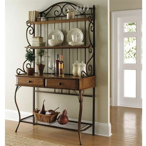 kitchen bakers rack cabinets best 25 bakers rack decorating ideas on pinterest