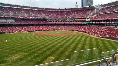 section 401 a great american ball park section 401 cincinnati reds