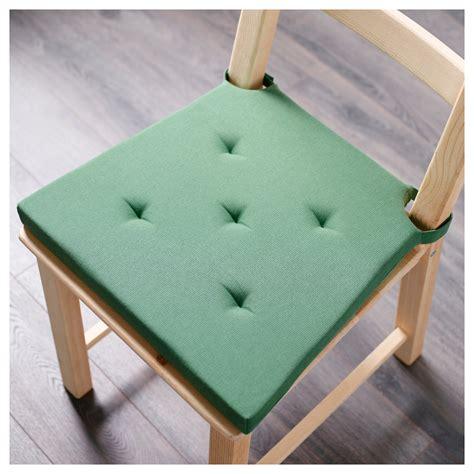 Ikea Justina Alas Kursi Bangku Chair Pad justina chair pad green 35 42x40x4 0 cm ikea