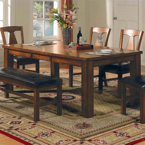 Steve Silver Dining Table Steve Silver Company Lakewood Rectangular Casual Dining