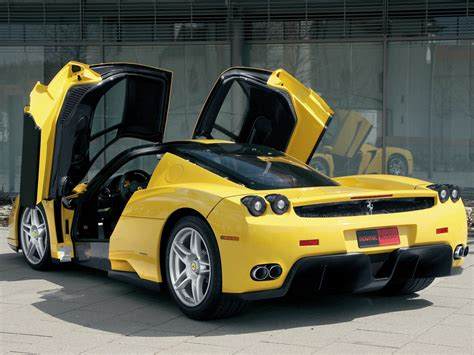 ferrari yellow car best car wallpaper enzo ferrari car wallpaper picture