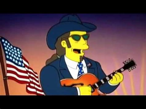 david crosby simpsons ted nugent on the simpsons running for president youtube
