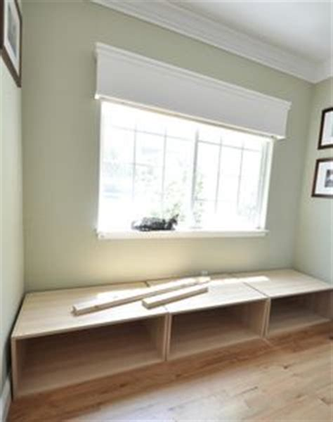 window seat made with ikea refrigerator cabinets 15 window seat and built ins reveal befores middles and