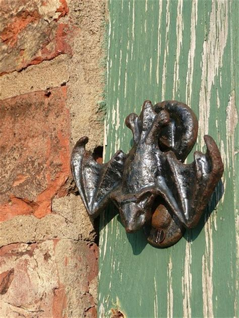 bat door knocker i ask you are these friendly welcoming door knockers