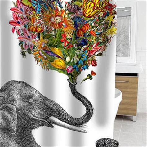 happy elephant shower curtain best elephant shower curtain products on wanelo