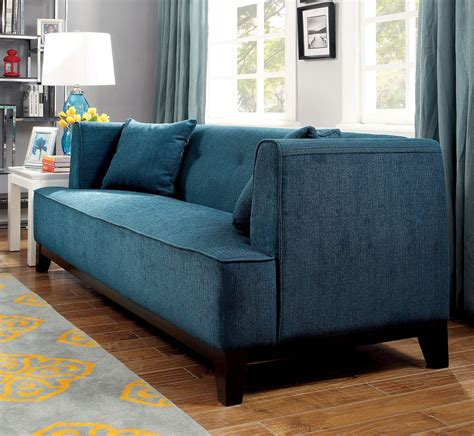 dark teal sofa dark teal transitional style modern sofa