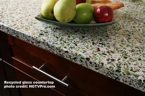 Recycled Glass Countertops Cost Comparison by Kitchen Countertop Material Comparison One Project Closer