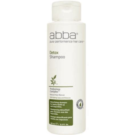 Oasis Hair Detox Shoo In Stores by Abba Detox Shoo 8 45 Oz