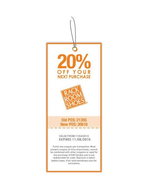 Coupons For Rack Room Shoes 20 by Rack Room Shoes 20 Printable Coupon Expires Monday