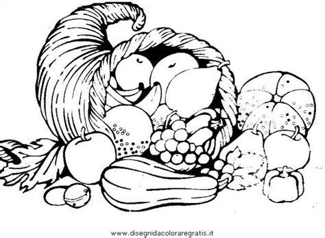 alimenti da colorare disegno cornucopia 5 alimenti da colorare