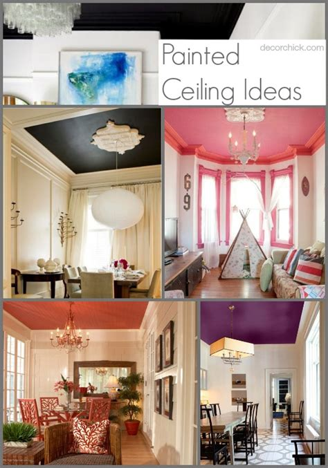 painted ceiling ideas pretty painted ceiling ideas decorchick