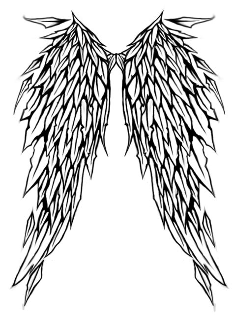 tribal angel wing tattoos wing tattoos designs ideas and meaning tattoos