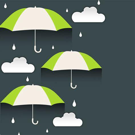 umbrella layout vector rainy day umbrella vector background welovesolo