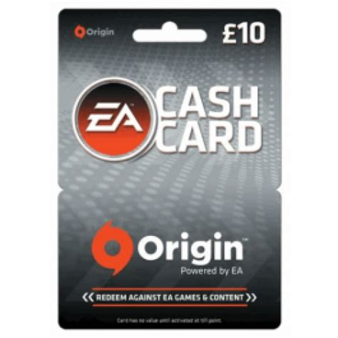 Origin Digital Gift Card - ea origin cash card 163 10