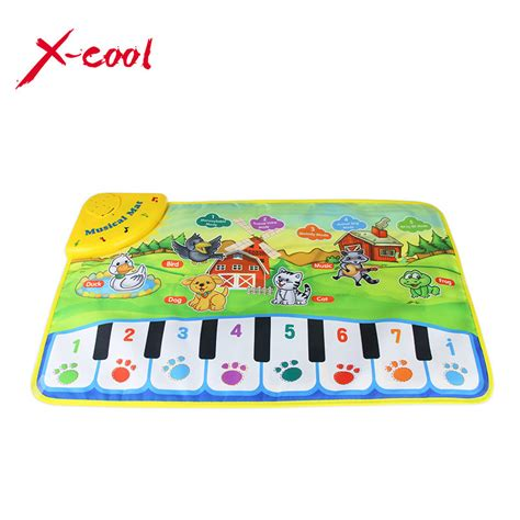 Musical Play Mat Piano by 37x60cm Baby Musical Carpet Children Play Mat Baby Piano