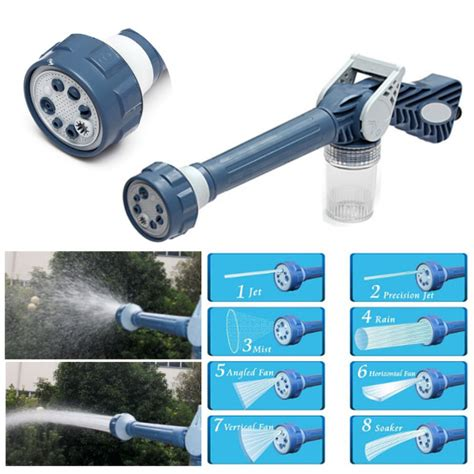 Ez Jet Water Cannon multifunction ez jet water cannon 8 in 1 turbo water spray