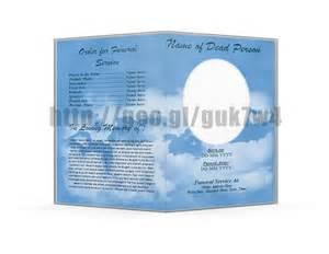 microsoft office program templates free microsoft office funeral program template on