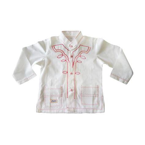 Baju Koko Doby Panjang jual rafifa panjang model b baju koko anak putih gading harga kualitas terjamin