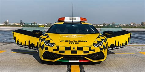Lamborghini Bologna by A New Follow Me Lamborghini At Bologna Airport The Story