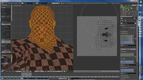 tutorial blender texture uv unwrapping and texture painting in blender tutorial