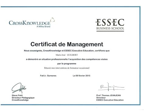 Mba In Hospitality Management Essec Business School by Management De La Diversit 233 En Entreprise Nord Pas De