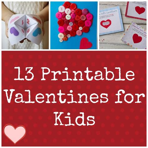 valentines day cards for children ideas for 13 printable valentines